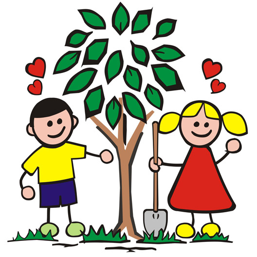 Growth clipart tree plantation. Free leaf growing cliparts