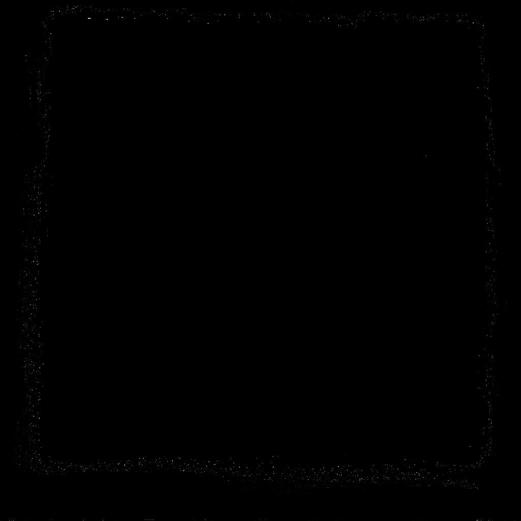 square psd transparent. Grunge frame png