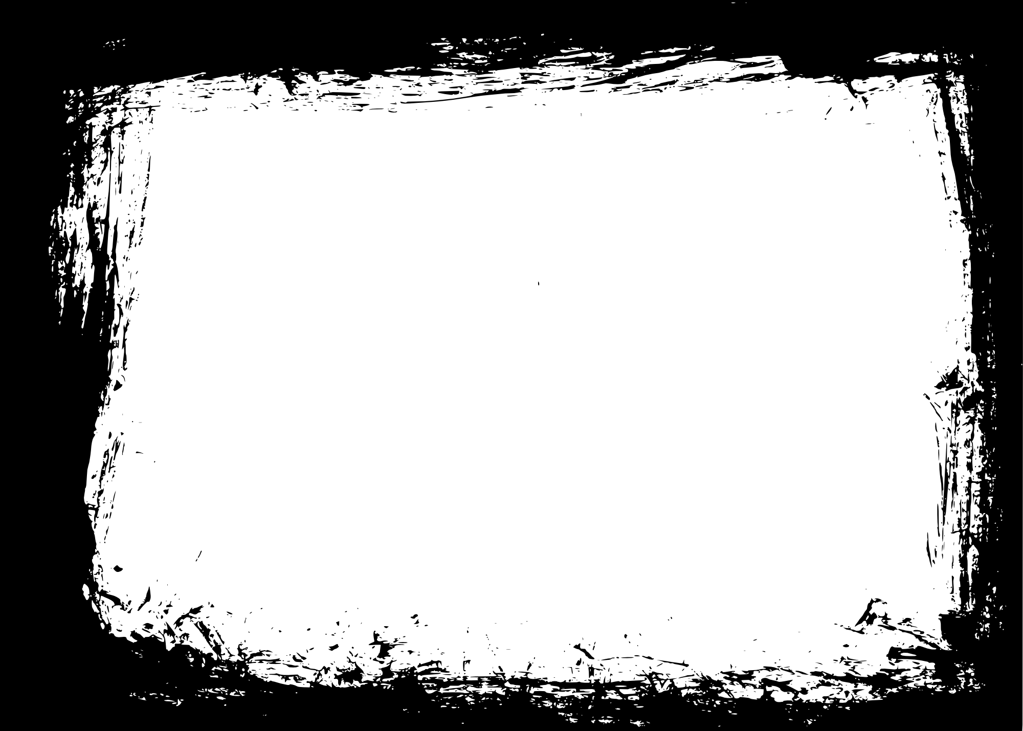 rectangle transparent vol. Grunge frame png