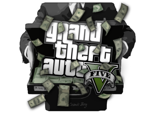 Game cheats and online. Gta 5 money png