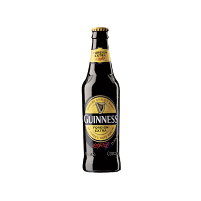 Foreign extra stout gotbeer. Guinness bottle png