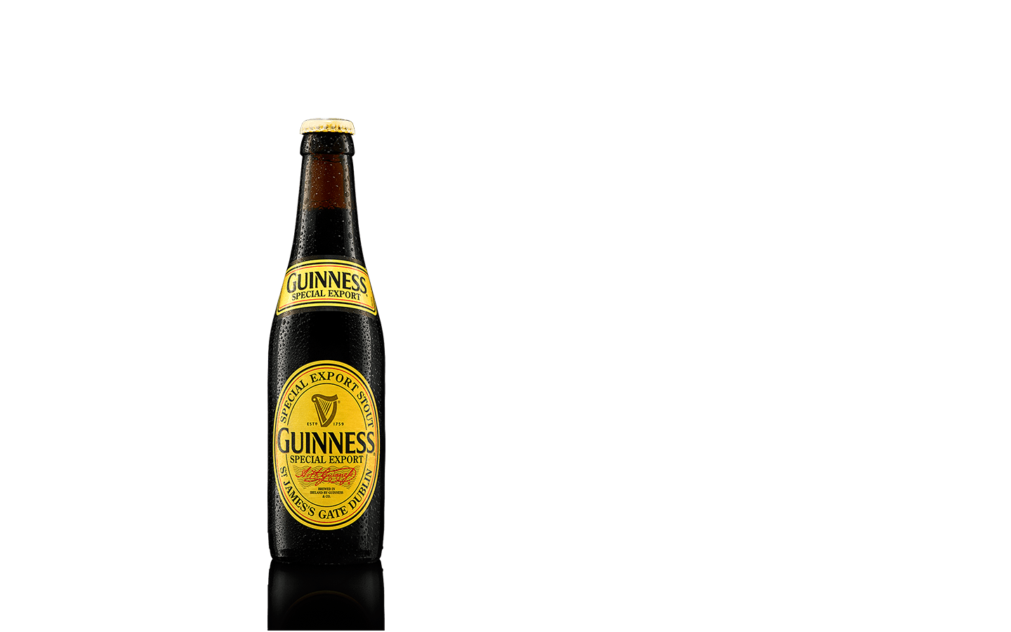 Guinness bottle png. Special export