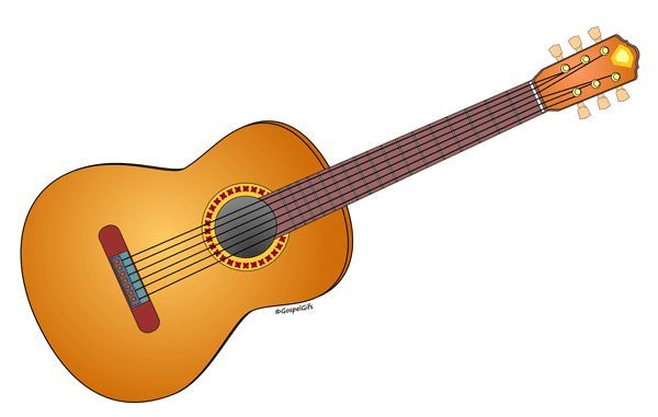 Pin on shrinky dink. Clipart guitar artistic