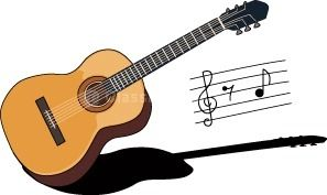 Guitar clipart. Clip art music pinterest