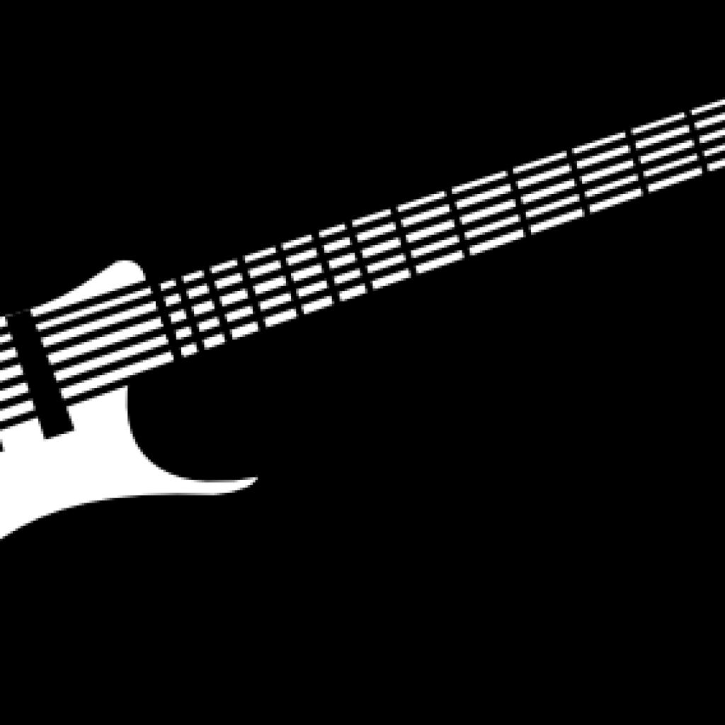 Guitar clipart black and white. Turkey hatenylo com clip