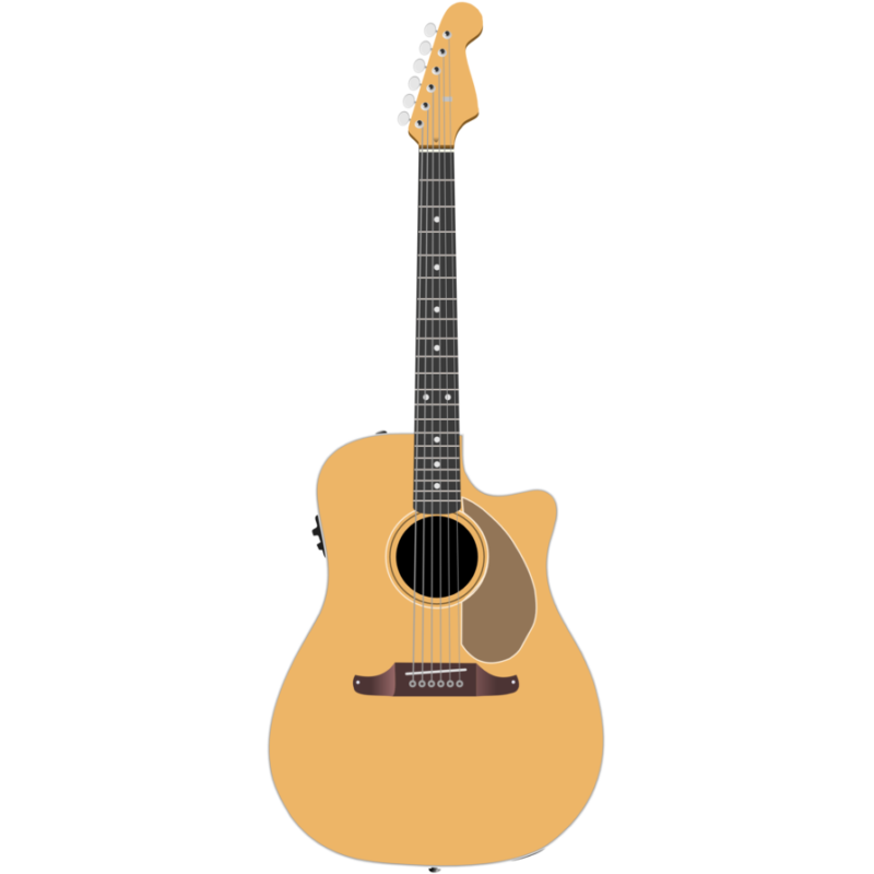 Guitar clipart cartoon. Free images black and
