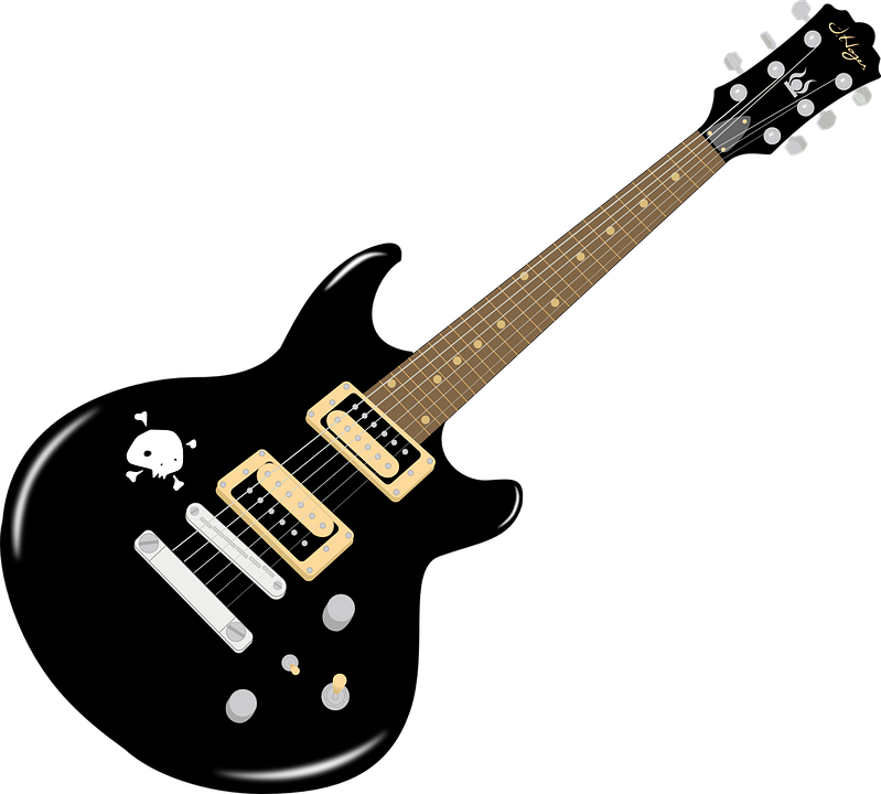 Electric in png web. Guitar clipart transparent background