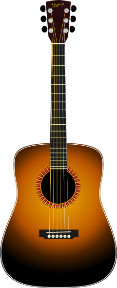 Guitar vector png. Acoustic clip art at