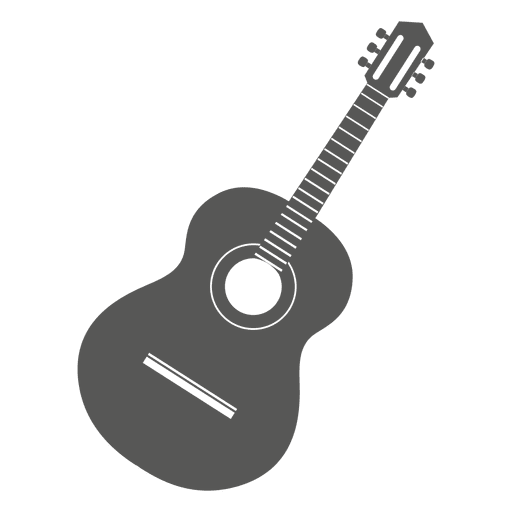 Icon transparent svg. Guitar vector png