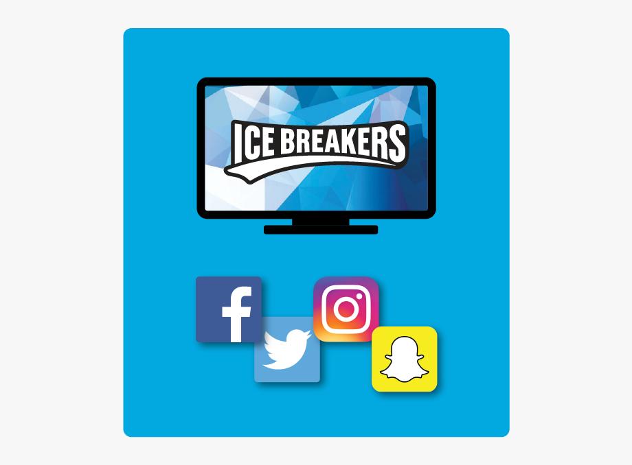 Snapchat facebook ask instagram. Gum clipart blue pack