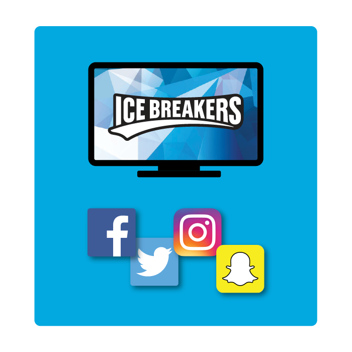 Gum clipart blue pack. Ice breakers cubes blister