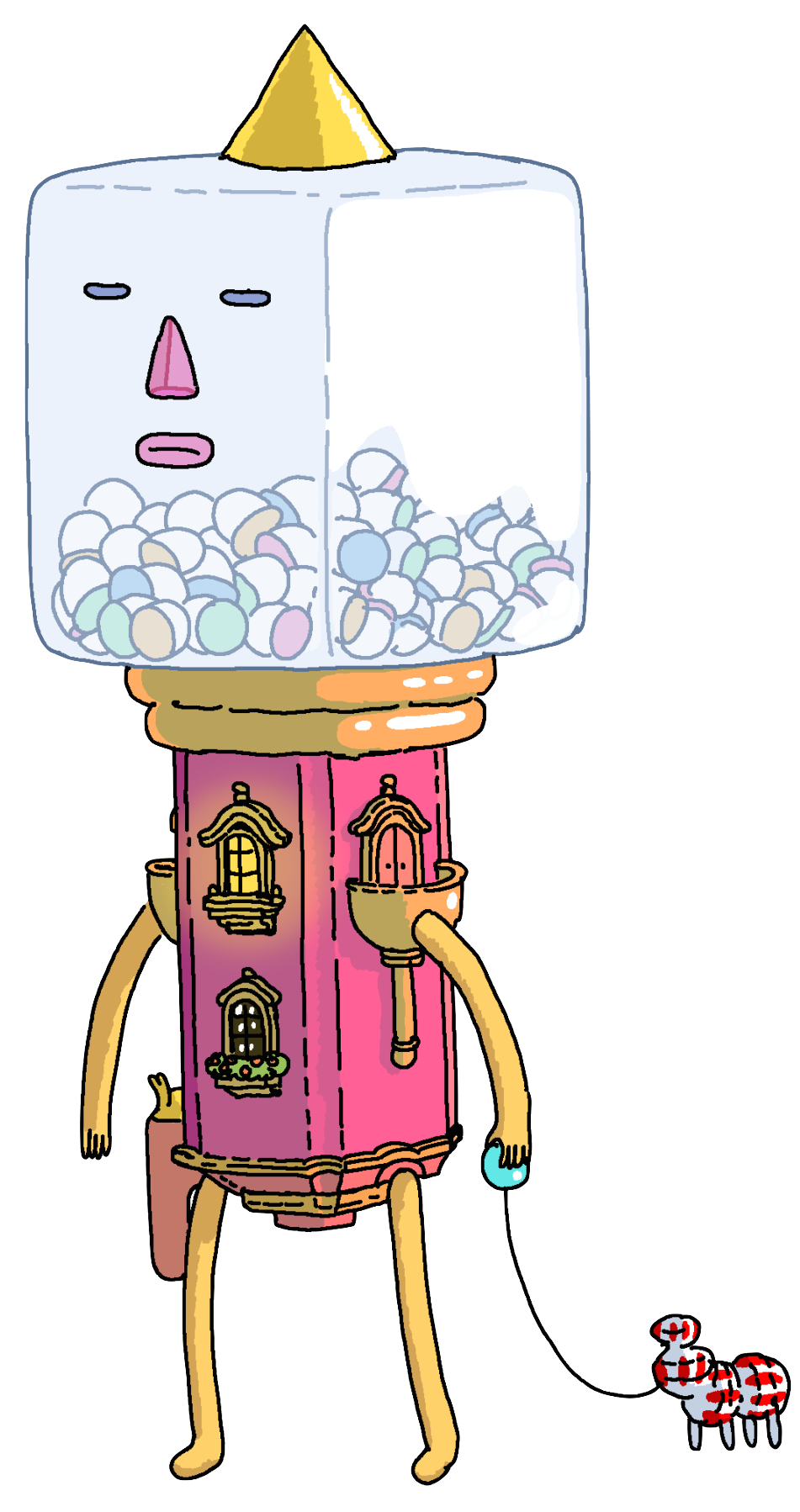 Prize ball guardian adventure. Gum clipart candy machine