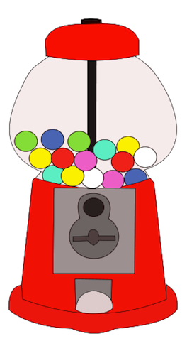 Free gumball cliparts download. Gum clipart candy machine