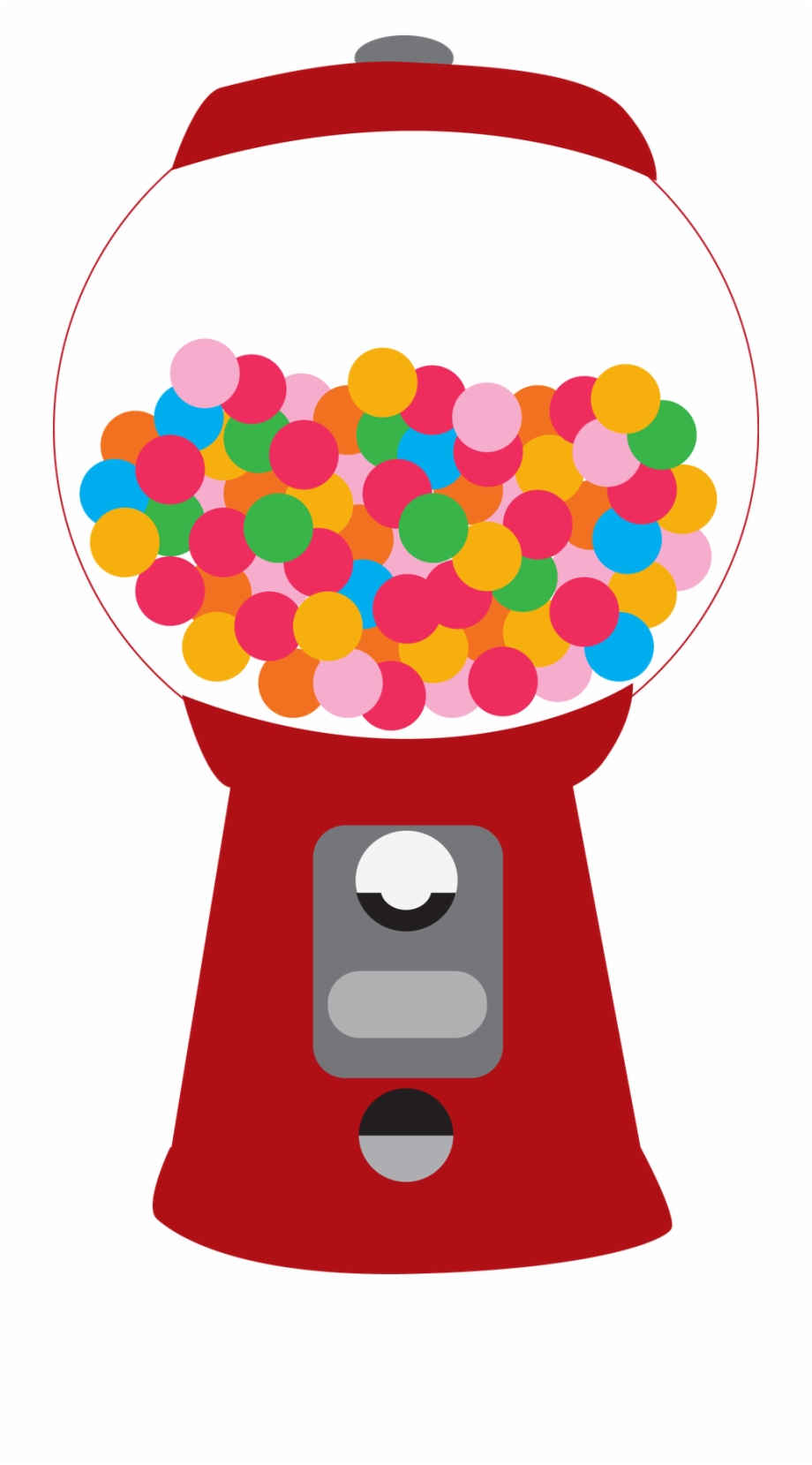 Gum clipart candy machine. Gumball printable bubble