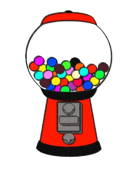 Gum clipart candy machine. Free gumball cliparts download