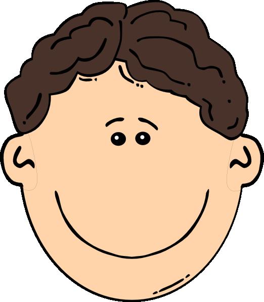 Gum clipart hair clipart. Boys cartoon faces clip