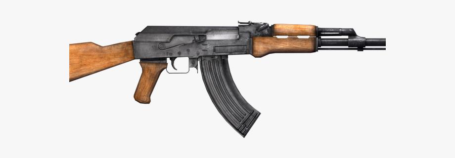 Gun clipart ak47. Machine transparent background ak