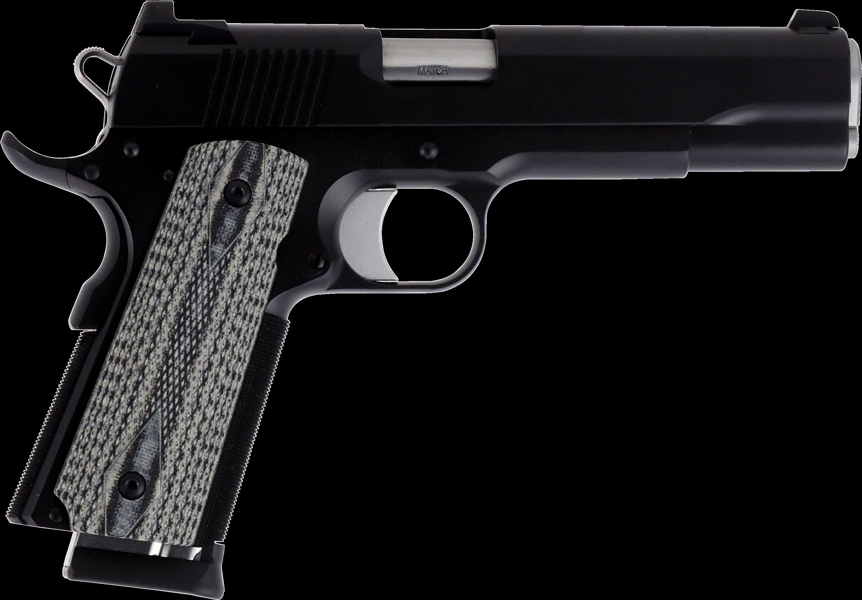 Transparent pistols dan wesson. Gun clipart banner