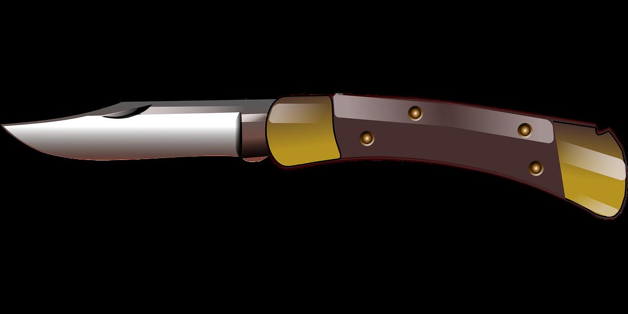 Knife clipart metal. Cartoonish jackknife png image