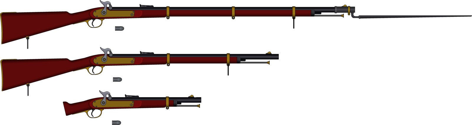 gun clipart lever action rifle