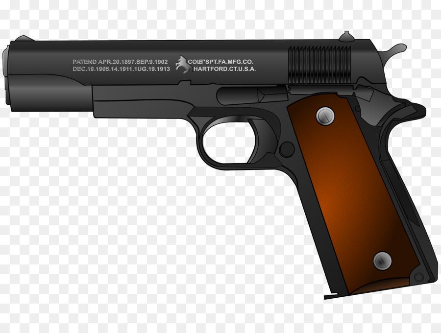 Rock background gun product. Guns clipart m1911