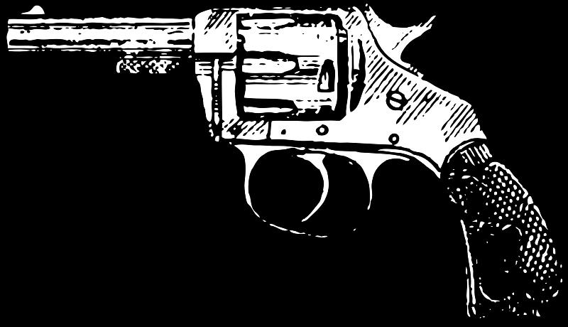 Revolver medium image png. Clipart gun pdf