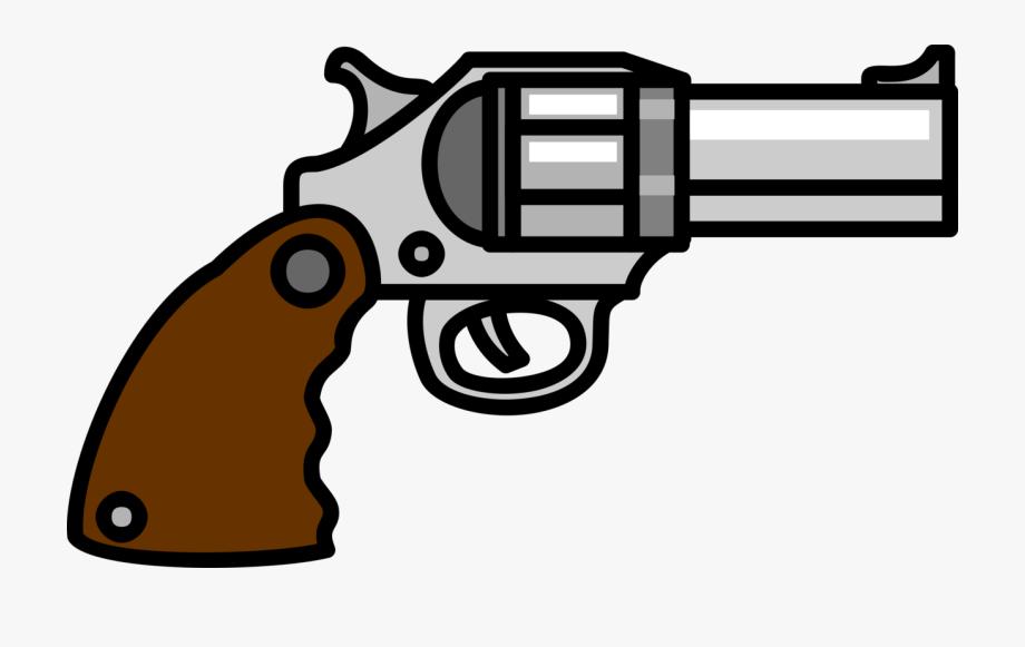 Firearm handgun clip gun. Pistol clipart rifle
