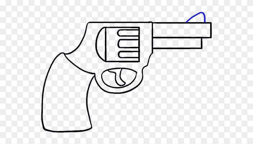 How to draw a. Guns clipart simple
