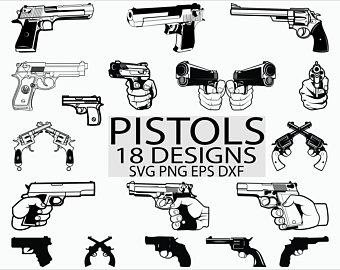 Etsy . Gun clipart svg