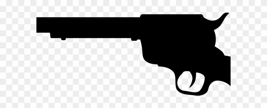Guns clipart transparent background. Pistol gun