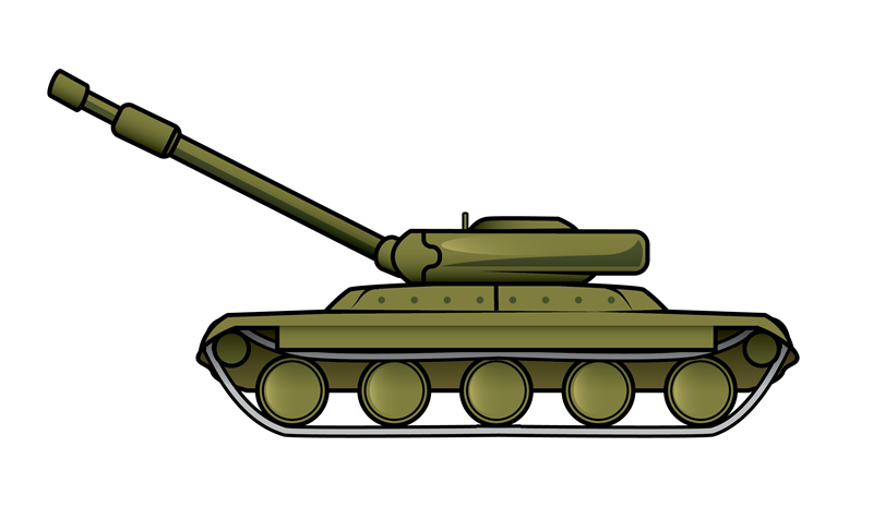 Army ww . Military clipart simple tank