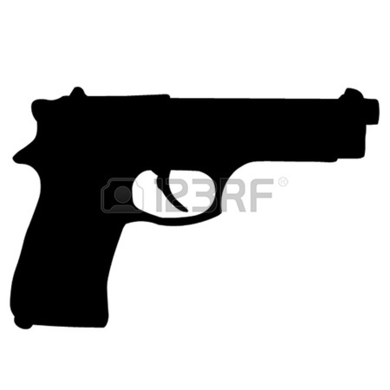 Clipart gun. Crossed panda free images