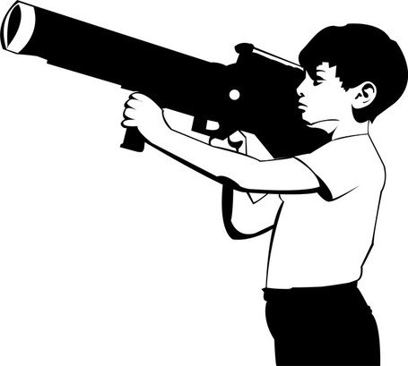 Free bazookas and vector. Guns clipart bazooka