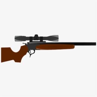 Weapon guns with no. Hunting clipart hunting gun