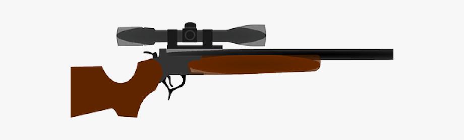 Weapon hunting guns with. Hunter clipart gun clipart