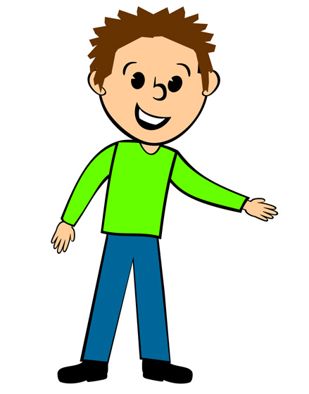 Person clipart boy.  collection of skinny