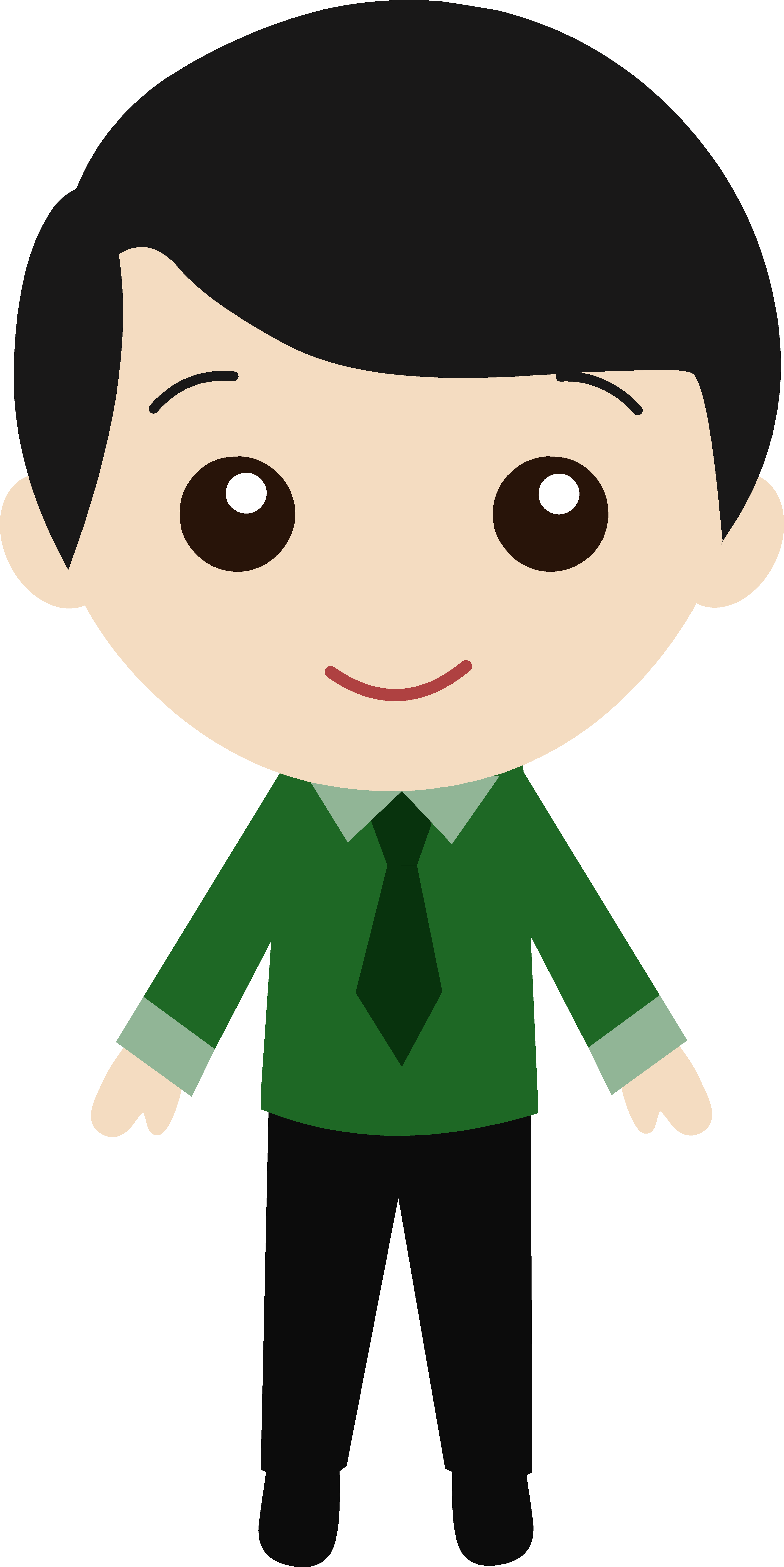 Young clipart brown haired boy. Cute guy