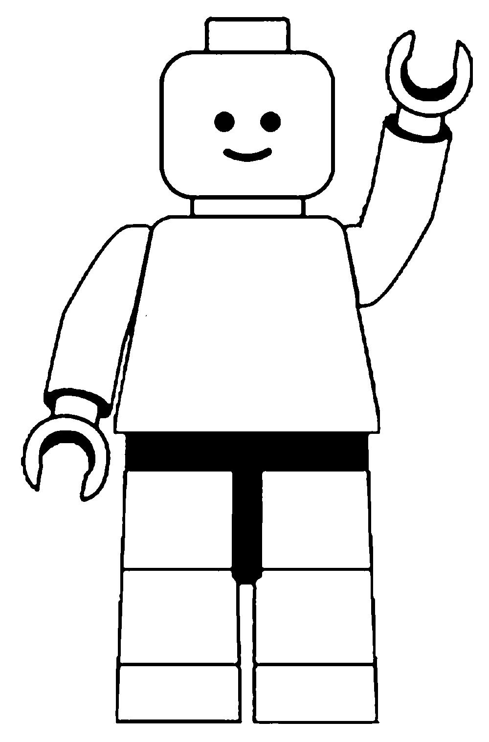 Legos clipart blocs. Stincle lego man
