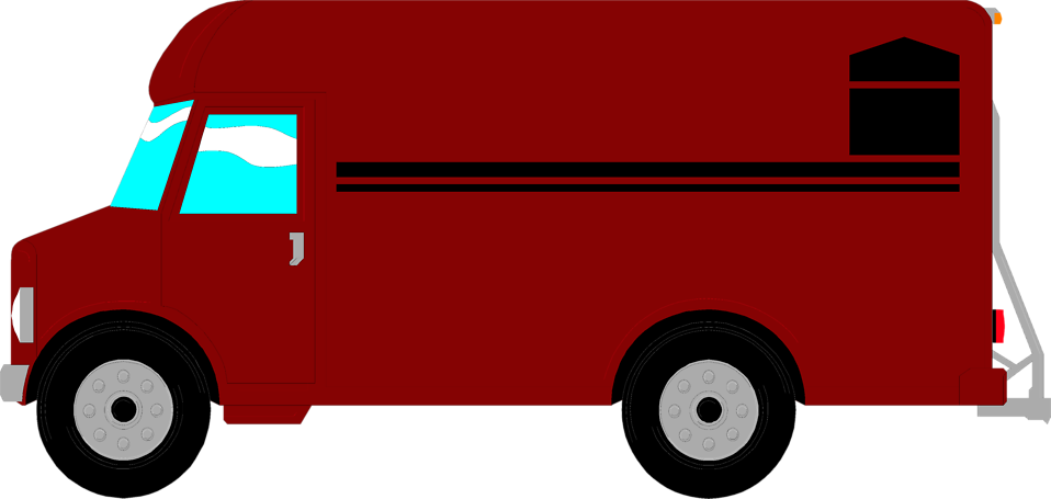 Minivan clipart van delivery.  collection of food