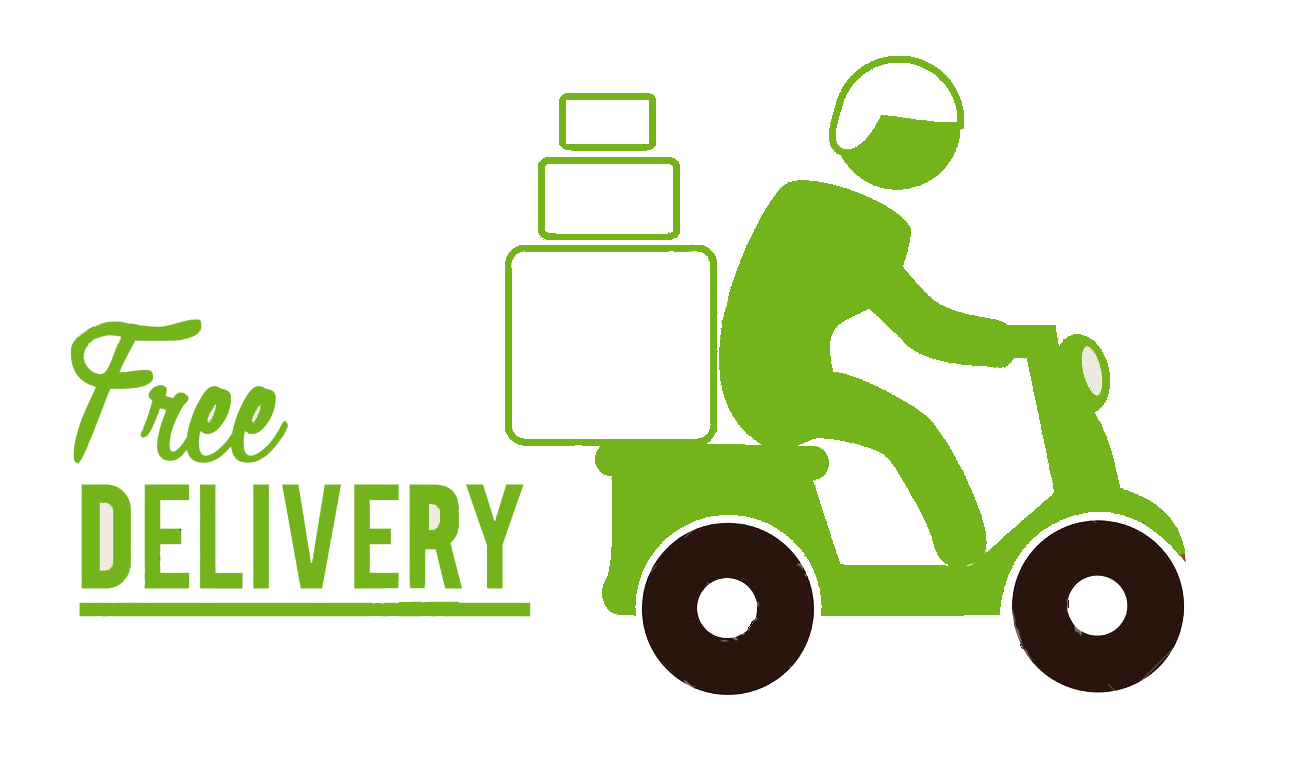 motorcycle clipart delivery #129761859