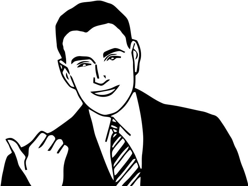 Tall clipart attractive man. Panda free images manclipart