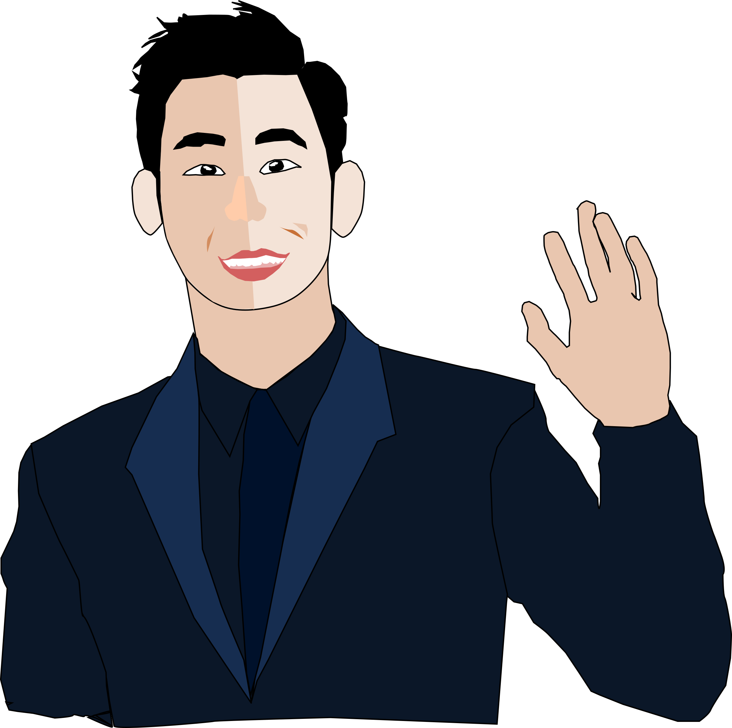 History clipart famous person.  collection of handsome