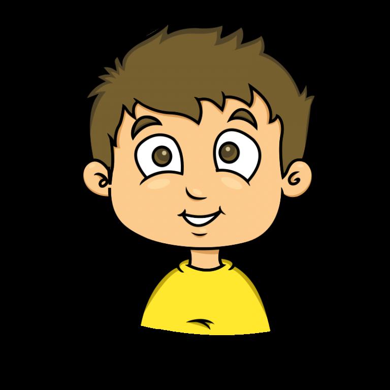 Eagle logo. Young clipart small boy