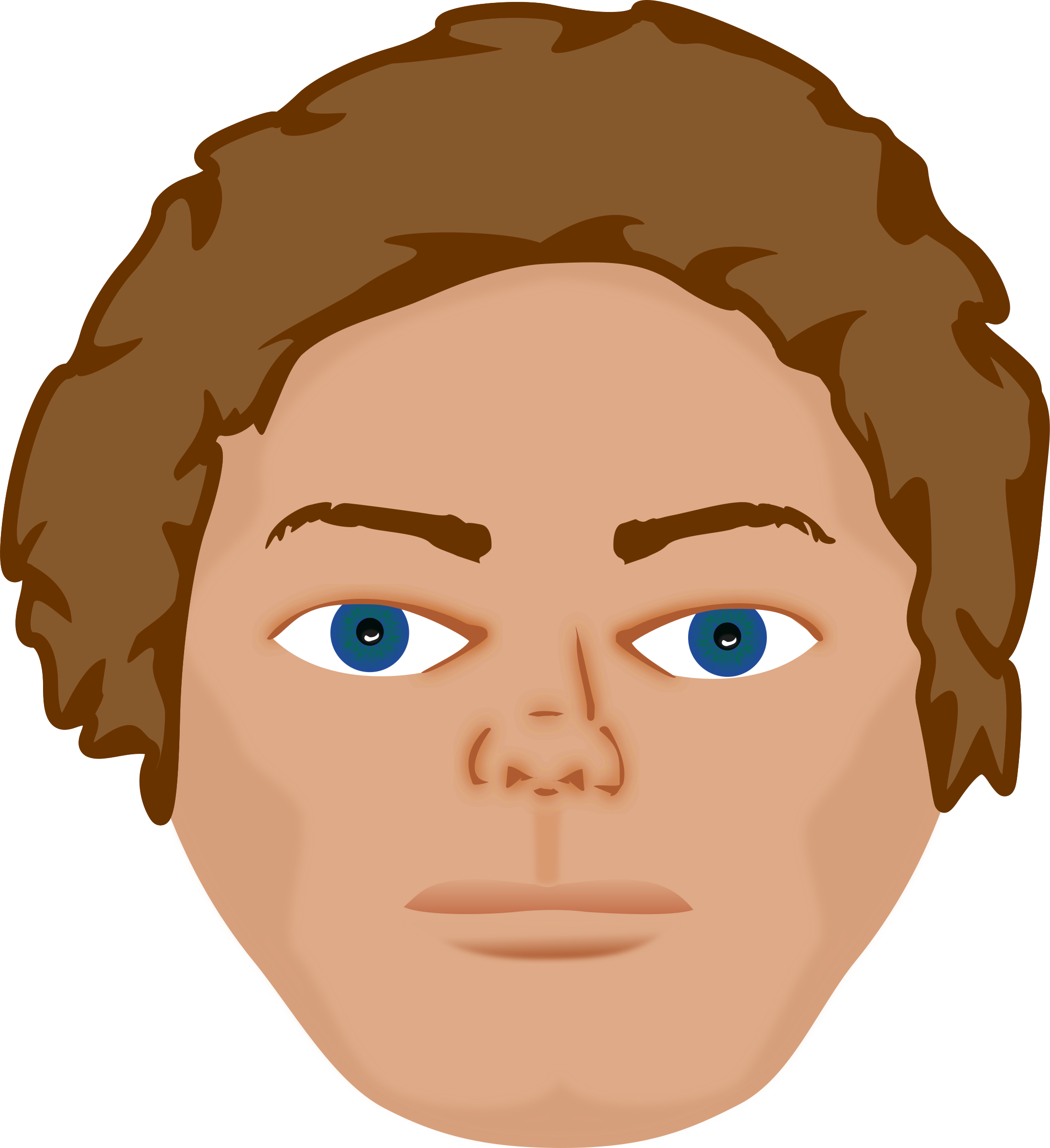 Young clipart guy. Man big image png