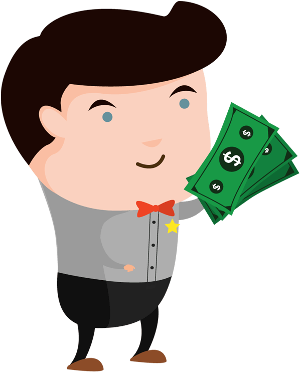 Cartoon cartoonview co man. Hand holding money png