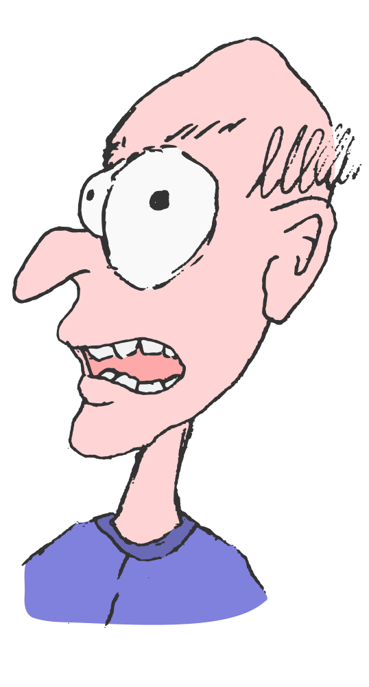 old clipart old man