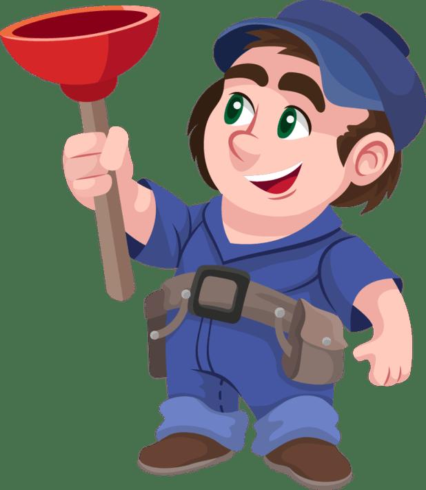 Plumber cartoon clip art. Guy clipart plumbing