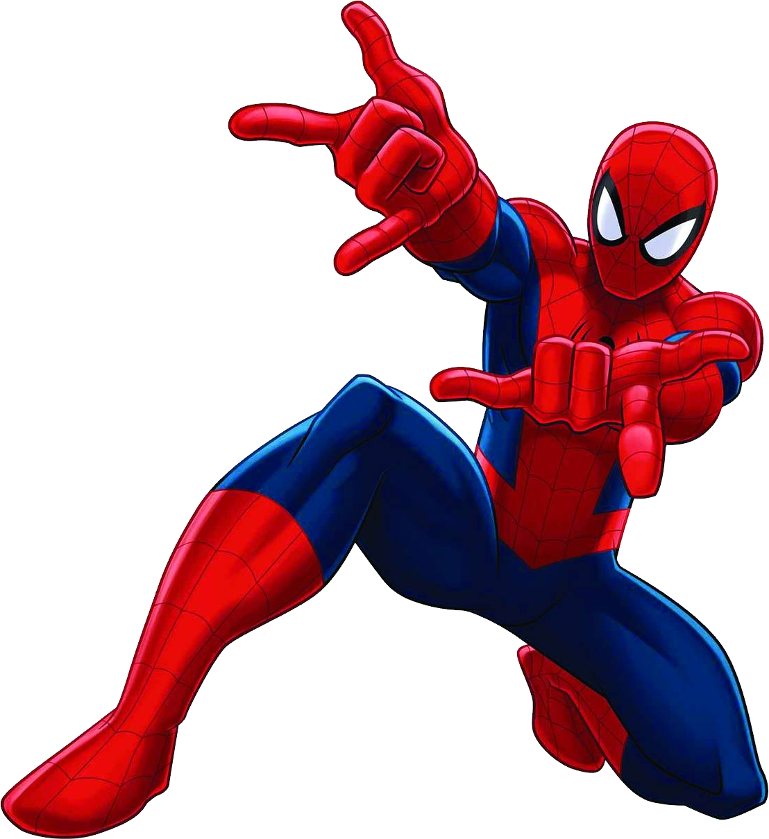 Spiderman comic transparent background. Leader clipart superhero