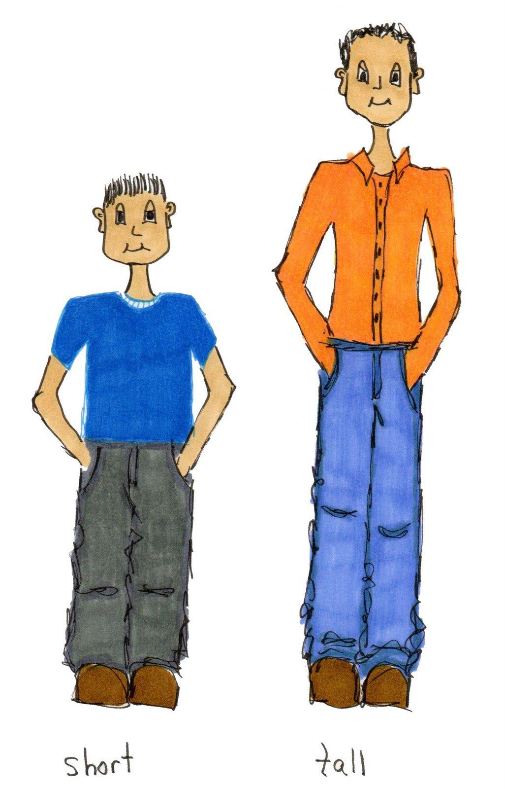 Tall clipart tall guy. Free short man cliparts