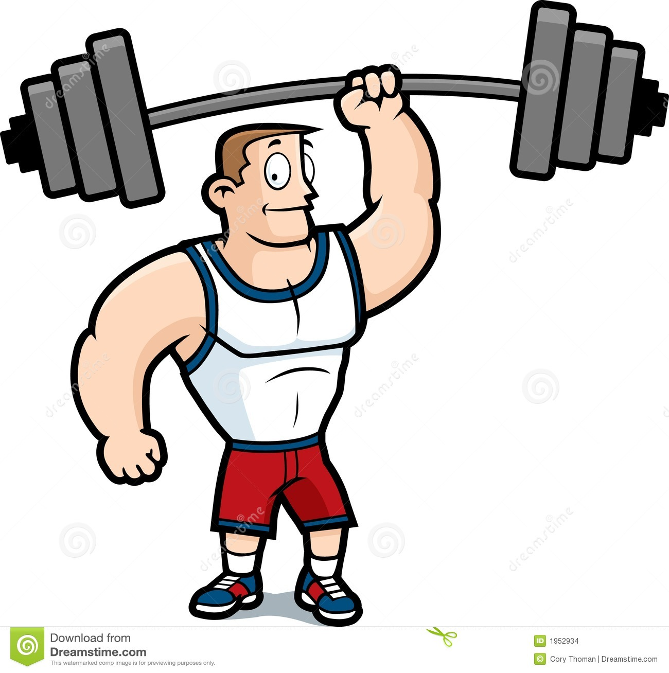 Gym clipart. Man
